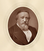 'Benjamin Ward Richardson (1828-1896) c1880,  English physician, anaesthetist, physiologist and sanitary reformer. Founder and editor of the ''Journal of Public Health and Sanitary Review'', 1855.'