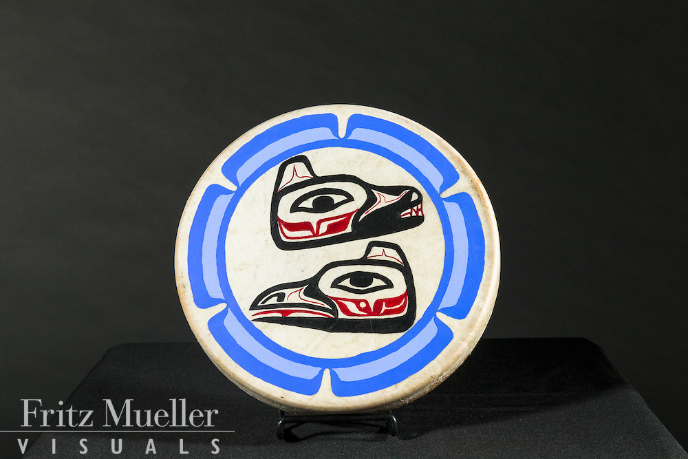 Adaka Cultural Festival 2016, Whitehorse, Yukon, Canada, Yukon First Nation Culture and Tourism Association, Kwanlin Dun Cultural Centre, Jonathan Wurtak, drum