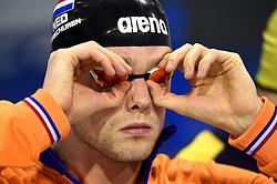 05-04-2015 NED: Swim Cup, Eindhoven<br /> Sabastiaan Verschuren wordt 3de op de 400 meter in 3:49.80