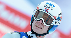 03.01.2016, Bergisel Schanze, Innsbruck, AUT, FIS Weltcup Ski Sprung, Vierschanzentournee, Bewerb, im Bild Kenneth Gangnes (NOR) // Kenneth Gangnes of Norway reacts after his Competition Jump of Four Hills Tournament of FIS Ski Jumping World Cup at the Bergisel Schanze, Innsbruck, Austria on 2016/01/03. EXPA Pictures © 2016, PhotoCredit: EXPA/ JFK
