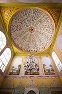 The apartments of the Queen Mother in the Harem of the Topkapi Palace, Istanbul, Turkey .<br /> If you prefer to buy from our ALAMY PHOTO LIBRARY  Collection visit : https://www.alamy.com/portfolio/paul-williams-funkystock/topkapi-palace-istanbul.html<br /> <br /> Visit our TURKEY PHOTO COLLECTIONS for more photos to download or buy as wall art prints https://funkystock.photoshelter.com/gallery-collection/3f-Pictures-of-Turkey-Turkey-Photos-Images-Fotos/C0000U.hJWkZxAbg