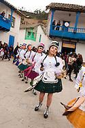 "Feast of ""Mamacha del Carmen"" of Paucartambo. The ""panaderos"" allegorically represent one of the most popular crafts in Paucartambo"