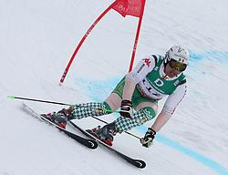 17.02.2011, Kandahar, Garmisch Partenkirchen, GER, FIS Alpin Ski WM 2011, GAP, Qualification, Herren, Riesenslalom, im Bild Hubertus von Hohenlohe (MEX) // Hubertus von Hohenlohe (MEX) during qualifying Giant Slalom Fis Alpine Ski World Championships in Garmisch Partenkirchen, Germany on 17/2/2011. EXPA Pictures © 2011, PhotoCredit: EXPA/ J. Groder