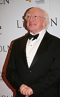Irish President Michael D Higgins at the Lincoln film premiere Savoy Cinema in Dublin, Ireland. Sunday 20th January 2013.