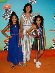 March 23, 2019 - Los Angeles, CA, USA - LOS ANGELES, CA - MARCH 23: GEM Sisters attend Nickelodeon's 2019 Kids' Choice Awards at Galen Center on March 23, 2019 in Los Angeles, California. Photo: CraSH for imageSPACE (Credit Image: © Imagespace via ZUMA Wire)