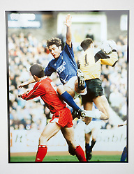 Ally McCoist in a game v Aberdeen at Ibrox. Pictures and pages from the time at Rangers News 1989 to 1993..©Michael Schofield.