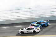 January 26-29, 2017: Rolex Daytona 24. 19 BMW Team RLL, BMW M6, Bill Auberlen, Alexander Sims, Augusto Farfus, Bruno Spengler , BMW art car