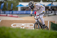 #21 (REYNOLDS Lauren) AUS at Round 2 of the 2020 UCI BMX Supercross World Cup in Shepparton, Australia.
