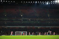 19 December 2017 -  EFL Cup (1/4 Final) - Arsenal v West Ham United - A large amount of empty seats inside the Emirates stadium - Photo: Marc Atkins/Offside