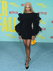 MAAD Moiselle arrives at the Los Angeles Premiere Of Netflix's 'The Harder They Fall' held at the Shrine Auditorium and Expo Hall on October 13, 2021 in Los Angeles, California, United States. Photo by Xavier Collin/Image Press Agency/ABACAPRESS.COM