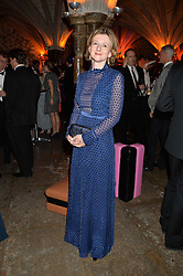 FRANCES OSBORNE at Save the Children's spectacular, black tie Winter Gala, a festive fundraising event held at London's Guildhall. Guests were transported into the magical world of the much-celebrated British novelist, Roald Dahl, in celebration of his centenary, for a marvellous evening of fine dining and gloriumtious entertainment to raise money to help transform children's lives across the world and here in the UK.