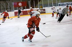 Marjan Manfreda, member of HK Acroni Jesenice ice-hockey team for season 2008/2009 at practice in Arena Podmezaklja, Jesenice, on September 24, 2008. (Photo by Vid Ponikvar / Sportal Images)
