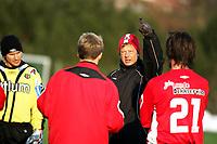Fotball, Treningskamp<br />Bryne 15.03.06 <br />Foto: Sigbjørn Hofsmo, Digitalsport<br /><br />Magnus Johansson Bryne Trener
