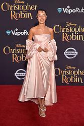 July 30, 2018 - Burbank, Kalifornien, USA - Rainy Milo bei der Premiere des Kinofilms 'Christopher Robin' in den Walt Disney Studios. Burbank, 30.07.2018 (Credit Image: © Future-Image via ZUMA Press)