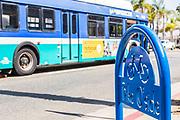 Breeze Public Bus Downtown Oceanside