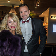 NLD/Amsterdam/20141211- Opening Masters of LXRY 2014, Patricia Paay en Erik Kwant