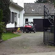 Voertuig huis Willeke Alberti Tafelbergweg Laren