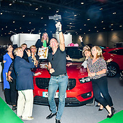 Female motoring journalists from 11 countries attend the London Motor & Tech Show opening day on 16 May 2019, at Excel London, UK.