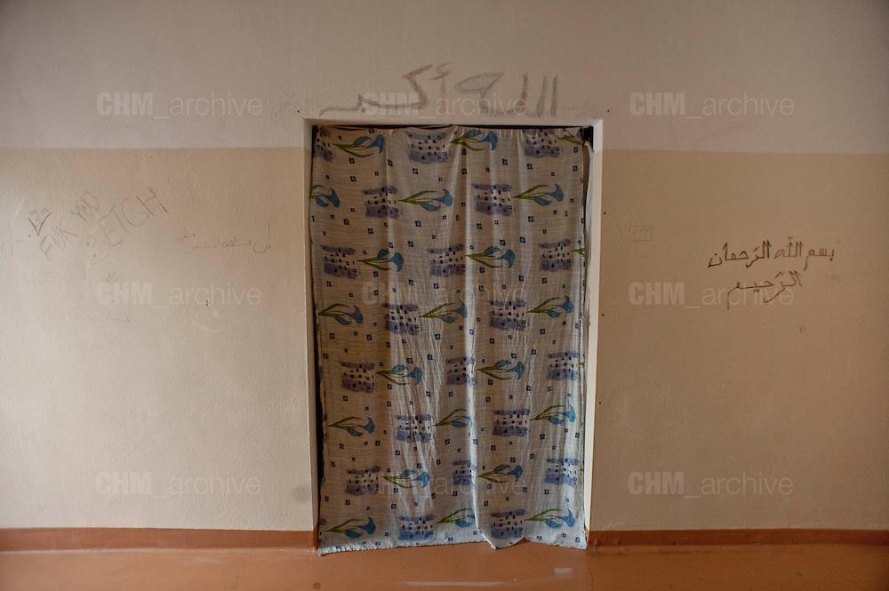 L'interno di una delle camerate del CIE di Gradisca.<br /> Gradisca d'Isonzo (GO) ,10 settembre 2013. Daniele Stefanini / OneShot