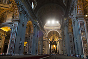 St Peters Basilica, Vatican, Rome, Italy.