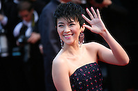 Zhang Ziyi attending the gala screening of The Great Gatsby at the Cannes Film Festival on 15th May 2013, Cannes, France.