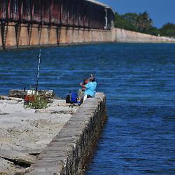 Fishing at Bahia Honda Park in the Florida Keys