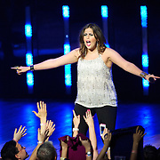 COLUMBIA, MD -  May 20th, 2012 - Hillary Scott of the Grammy Award-winning group Lady Antebellum performs to a packed house at Merriweather Post Pavilion in COlumbia, MD.  The group's last album, We Own The Night, reached #1 on the US Billboard 200. (Photo by Kyle Gustafson/For The Washington Post)