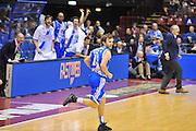 DESCRIZIONE : Milano Final Eight Coppa Italia 2014 Finale Montepaschi Siena - Dinamo Banco di Sardegna Sassari<br /> GIOCATORE : Travis Diener<br /> CATEGORIA : Ritratto Esultanza<br /> SQUADRA : Dinamo Banco di Sardegna Sassari<br /> EVENTO : Final Eight Coppa Italia 2014 Milano<br /> GARA : Montepaschi Siena - Dinamo Banco di Sardegna Sassari<br /> DATA : 09/02/2014<br /> SPORT : Pallacanestro <br /> AUTORE : Agenzia Ciamillo-Castoria / Luigi Canu<br /> Galleria : Final Eight Coppa Italia 2014 Milano<br /> Fotonotizia : Milano Final Eight Coppa Italia 2014 Finale Montepaschi Siena - Dinamo Banco di Sardegna Sassari<br /> Predefinita :