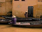 Vietnam, Hoi An:flooded street.