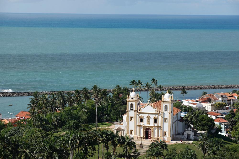 Olinda_PE, Brasil.<br /> <br /> Na foto Igreja Santo Antonio do Carmo em Olinda, Pernambuco.<br /> <br /> Santo Antonio do Carmo church in Olinda, Pernambuco.<br /> <br /> Foto:  BRUNO MAGALHAES / NITRO