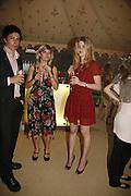 Emma Barnett and Leonora Stevens, Tatler Summer party ( in association with Fendi) Home House, Portman Sq. 29 June 2006. ONE TIME USE ONLY - DO NOT ARCHIVE  © Copyright Photograph by Dafydd Jones 66 Stockwell Park Rd. London SW9 0DA Tel 020 7733 0108 www.dafjones.com