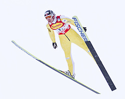 16.12.2011, Casino Arena, Seefeld, AUT, FIS Nordische Kombination, Ski Springen Team HS 109, im Bild Haavard Klemetsen (NOR) // Haavard Klemetsen of Norway during Ski jumping the team competition at FIS Nordic Combined World Cup in Sefeld, Austria on 20111211. EXPA Pictures © 2011, PhotoCredit: EXPA/ P.Rinderer