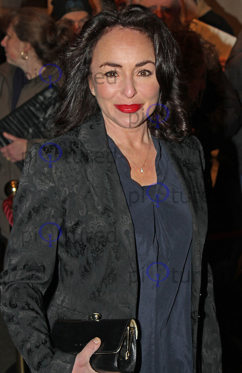 LONDON - March 25: Samantha Spiro at the Peter & Alice - Press Night (Photo by Brett D. Cove)