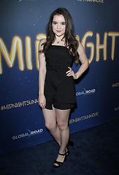 The Midnight Sun Premiere. 15 Mar 2018 Pictured: Aubrey Miller. Photo credit: Jaxon / MEGA TheMegaAgency.com +1 888 505 6342