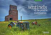 PRODUCT: Magazine (text & photos)<br /> TITLE: Sentinels of the Prairie<br /> CLIENT: Reiman Publications