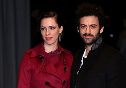 Rebecca Hall and Morgan Spector attending the Burberry London Fashion Week Show at Makers House, Manette Street, London.