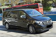 031819 Cristiano Ronaldo arrives the Insparya clinic in Madrid