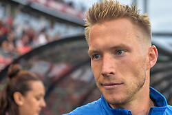 September 3, 2017 - Toronto, Canada - Simon Thomas (CAN) before the Canada-Jamaica Men's International Friendly match at BMO Field in Toronto, Canada, on 2 September 2017. (Credit Image: © Anatoliy Cherkasov/NurPhoto via ZUMA Press)