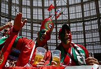 portugal supporters<br /> Moscow 20-06-2018 Football FIFA World Cup Russia  2018 <br /> Portugal - Morocco / Portogallo - Marocco <br /> Foto Matteo Ciambelli/Insidefoto
