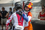 #313 (KIMMANN Niek) NED wins at Round 10 of the 2019 UCI BMX Supercross World Cup in Santiago del Estero, Argentina