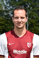 Kevin LEJEUNE - 01.08.2014 - Photo Officielle de Metz -<br /> Photo : Fred Marvaux / Icon Sport