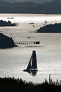 La Route des Princess. Plymouth. UK<br /> Pictures of the start of the final offshore leg Plymouth - Roscoff<br /> Credit: Lloyd Images