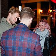NLD/Amsterdam/20181107 - Inloop Lakshmi theatertour Adem, Jan de Witte van de 3 J's met partner .........