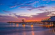 An Evening at the San Clemente Pier