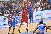 DESCRIZIONE :  Lega A 2014-15  EA7 Milano -Banco di Sardegna Sassari playoff Semifinale gara 7<br /> GIOCATORE : Brooks MarShon<br /> CATEGORIA : Low Tiro Tre Punti <br /> SQUADRA : EA7 Milano<br /> EVENTO : PlayOff Semifinale gara 7<br /> GARA : EA7 Milano - Banco di Sardegna Sassari PlayOff Semifinale Gara 7<br /> DATA : 10/06/2015 <br /> SPORT : Pallacanestro <br /> AUTORE : Agenzia Ciamillo-Castoria/A.Scaroni<br /> Galleria : Lega Basket A 2014-2015 Fotonotizia : Milano Lega A 2014-15  EA7 Milano - Banco di Sardegna Sassari playoff Semifinale  gara 7<br /> Predefinita :