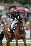 REVE DU ROUET ridden by Sarah Bullimore at Bramham International Horse Trials 2016 at Bramham Park, Bramham, United Kingdom on 10 June 2016. Photo by Mark P Doherty.