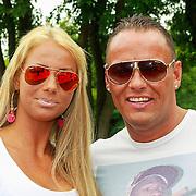NLD/Hilversum/20130820- Najaarspresentatie RTL 2013, Barbie en Michael, Samantha de Jong en Michael van der Plas