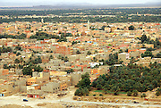 Agdz, Morocco view of the town