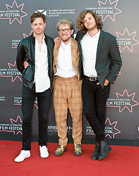 Edinburgh International Film Festival, Monday, 25th June 2018<br /> <br /> JELLYFISH (European Premiere)<br /> <br /> Pictured: Director James Gardner, producer Nikolas Holttum and writer Simon Lord <br /> <br /> (c) Alex Todd | Edinburgh Elite media