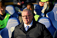 Peterborough United manager Steve Evans   before the EFL Sky Bet League 1 match between Peterborough United and Bradford City at The Abax Stadium, Peterborough, England on 17 November 2018.